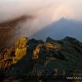 Promise of a light, Win H ill Peak District UK 2015
